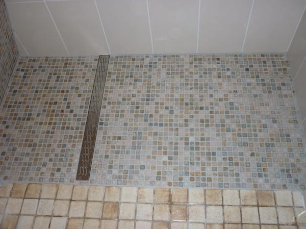 Castorama douche italienne awesome carrelage douche for Carrelage mosaique castorama