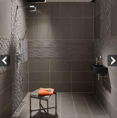 carrelage salle de bain douche italienne