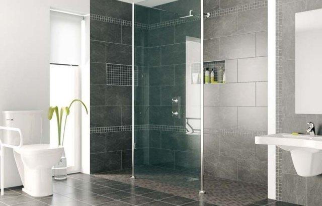 douche à l italienne moderne