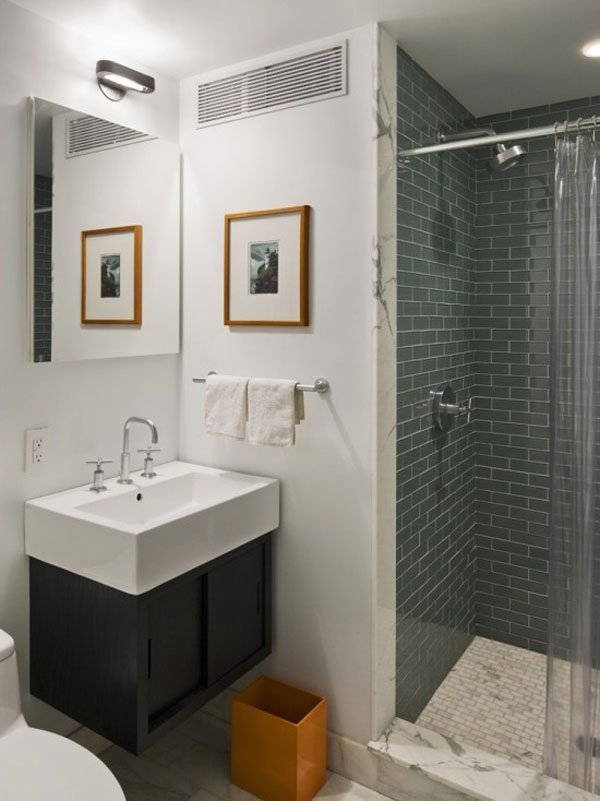 douche à l italienne petite salle de bain