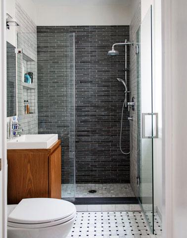 douche italienne dans petite salle de bain carrelage douche italienne castorama - Douche Salle De Bain Castorama