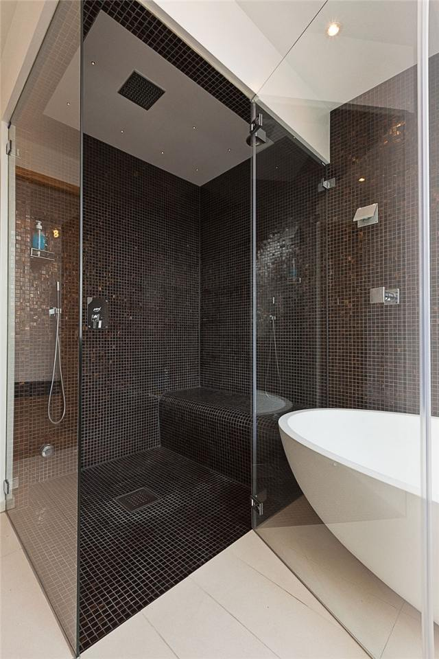 douche italienne noire