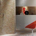 Douche italienne pierre