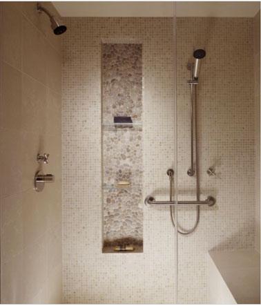 etagere pour douche italienne