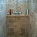 Faience pour douche italienne