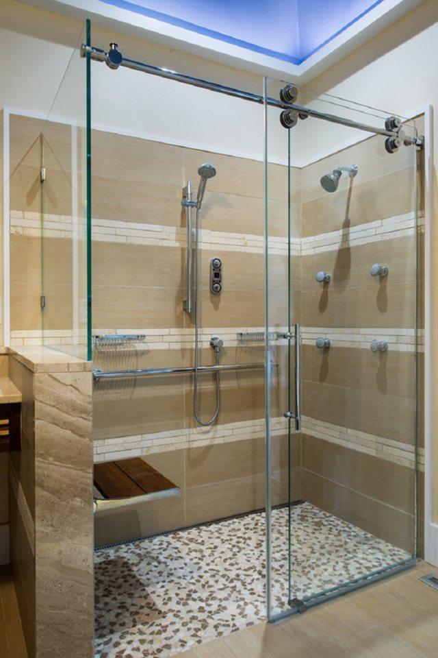 idee douche italienne - Idee De Salle De Bain Italienne