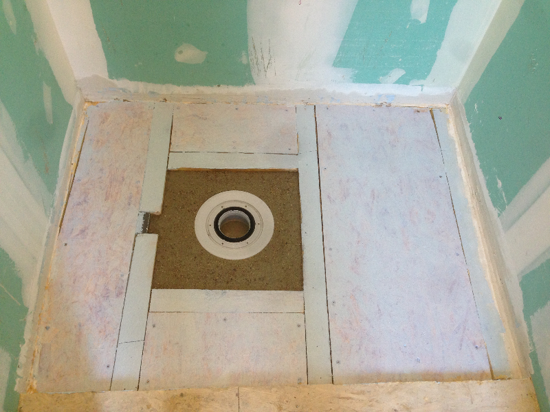 installer douche italienne