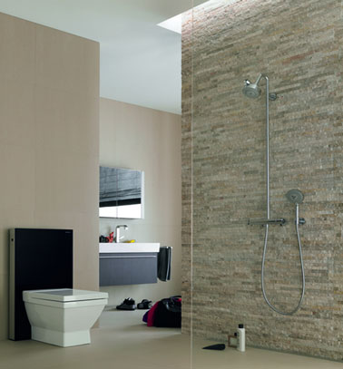 modele salle de bain avec douche italienne - Salle De Bains Italienne Photos