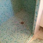 Mosaique douche à l italienne