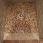 Mosaique douche italienne