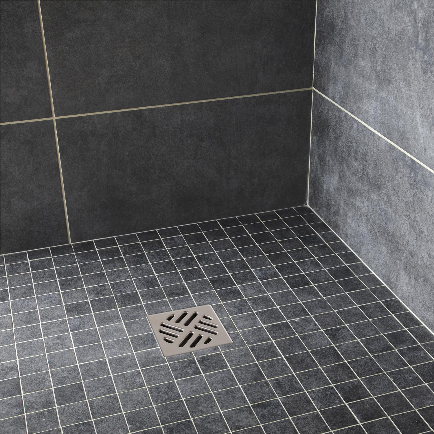 Salle de bain travertin leroy merlin for Carrelage mosaique sol salle de bain