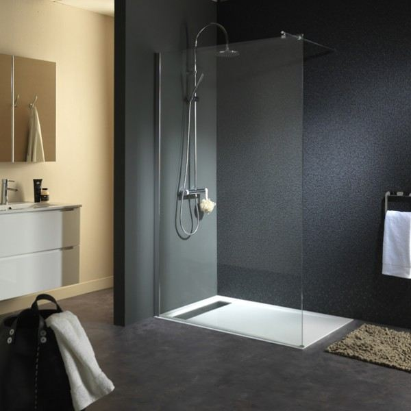 dboucher douche italienne free charmant pare douche en. Black Bedroom Furniture Sets. Home Design Ideas