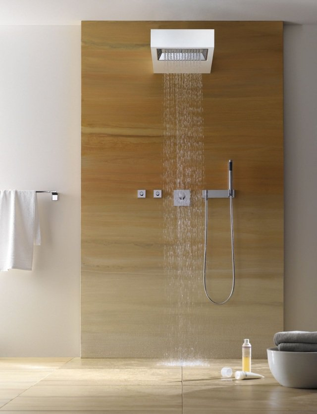 photo douche à l italienne