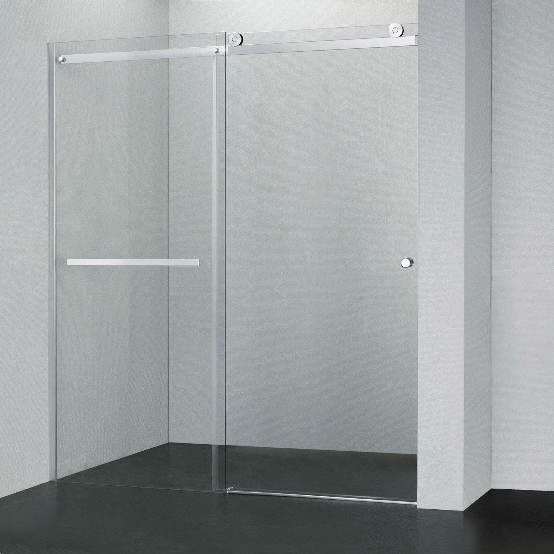 porte vitrée douche italienne