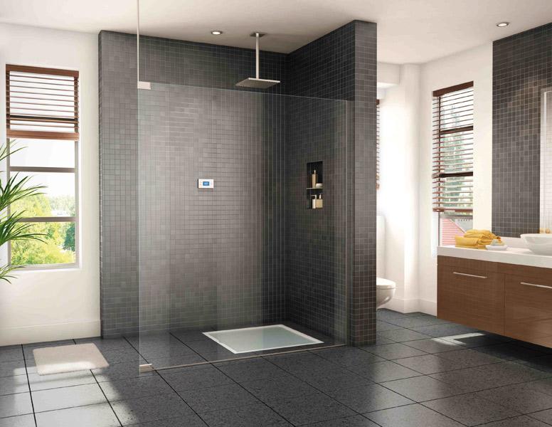 salle de bain douche italienne design - Salle De Bains Douche Italienne