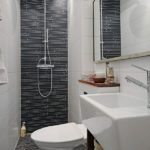 Salle de bain douche italienne petit espace